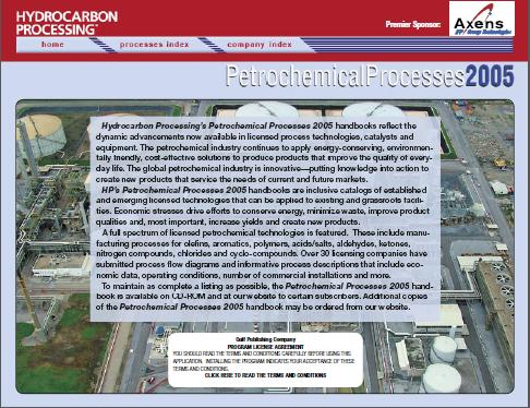 Petrochemical Processes Handbook2005