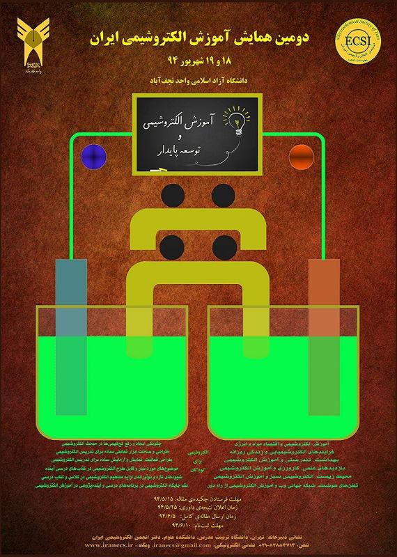 دومین همایش آموزش الکتروشیمی ایران