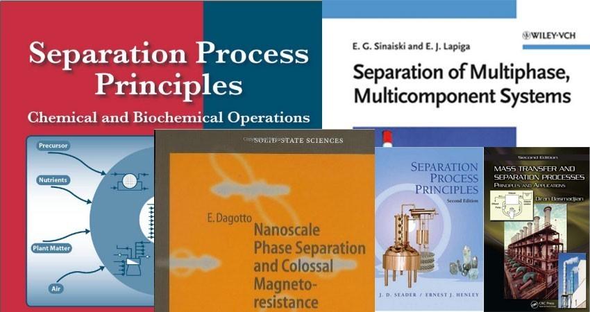 دانلود سری اول مجموعه کتب جداسازی و الکتروشیمی