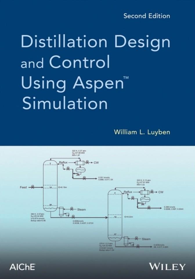 کتاب طراحی و کنترل برج تقطیر با نرم افزار aspen plus یا Distillation Design and Control Using Aspen Simulation