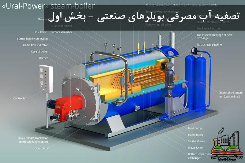 تصفیه آب مصرفی بویلرهای صنعتی