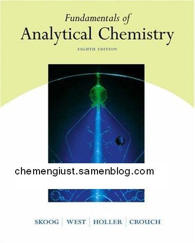 دانلود کتاب کامل شیمی تجزیه به صورت pdf و زبان انگلیسی و در 17 فصل