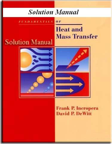 حل المسایل انتقال حرارت اینکروپرا