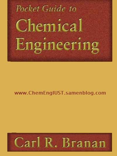 راهنمای جیبی مهندسی شیمی