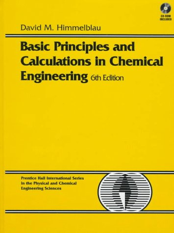 كتاب Basic Principles And Calculations In Chemical Engineering