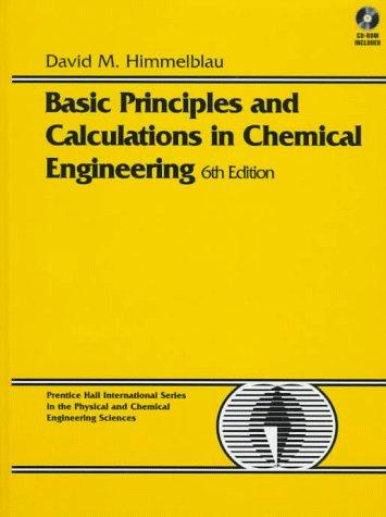 كتاب Basic Principles And Calculations In Chemical Engineering