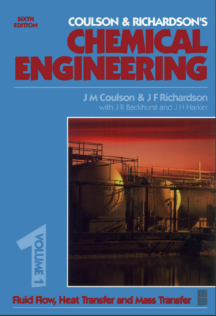 coulson and richardson chemical engineering volume 1