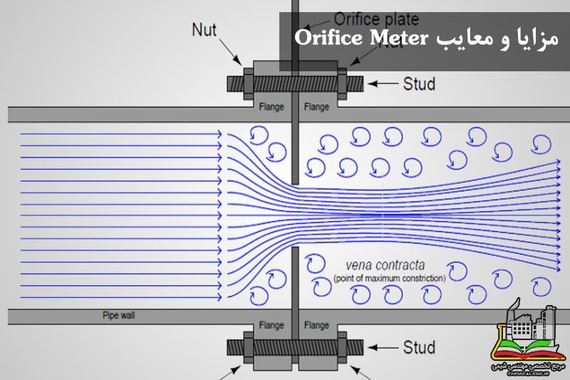 مزایا و معایب Orifice Meter