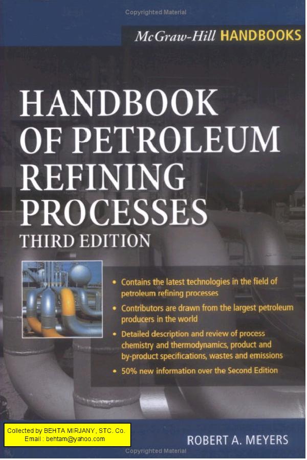 Handbook Of Petroleum Refining Rrocesses